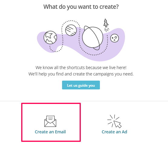 Create an email 1