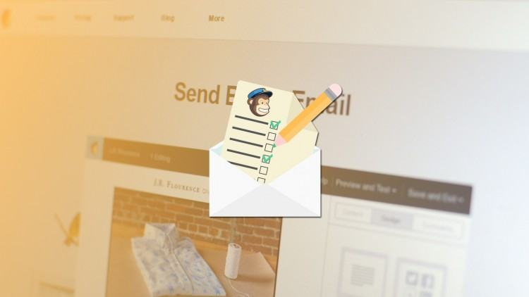 Tao email list trong MailChimp