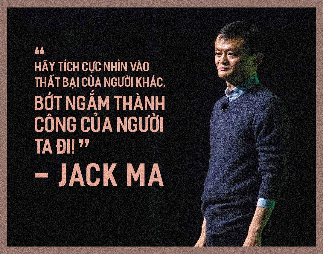 Jack Ma lời khuyên