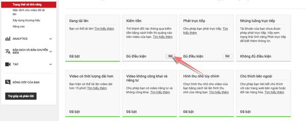 cách tạo tài khoản youtube kiếm tiền 1 2