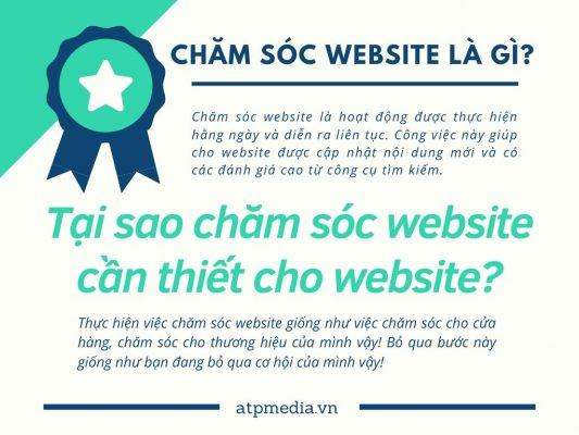 Dịch vụ chăm sóc website là gì?