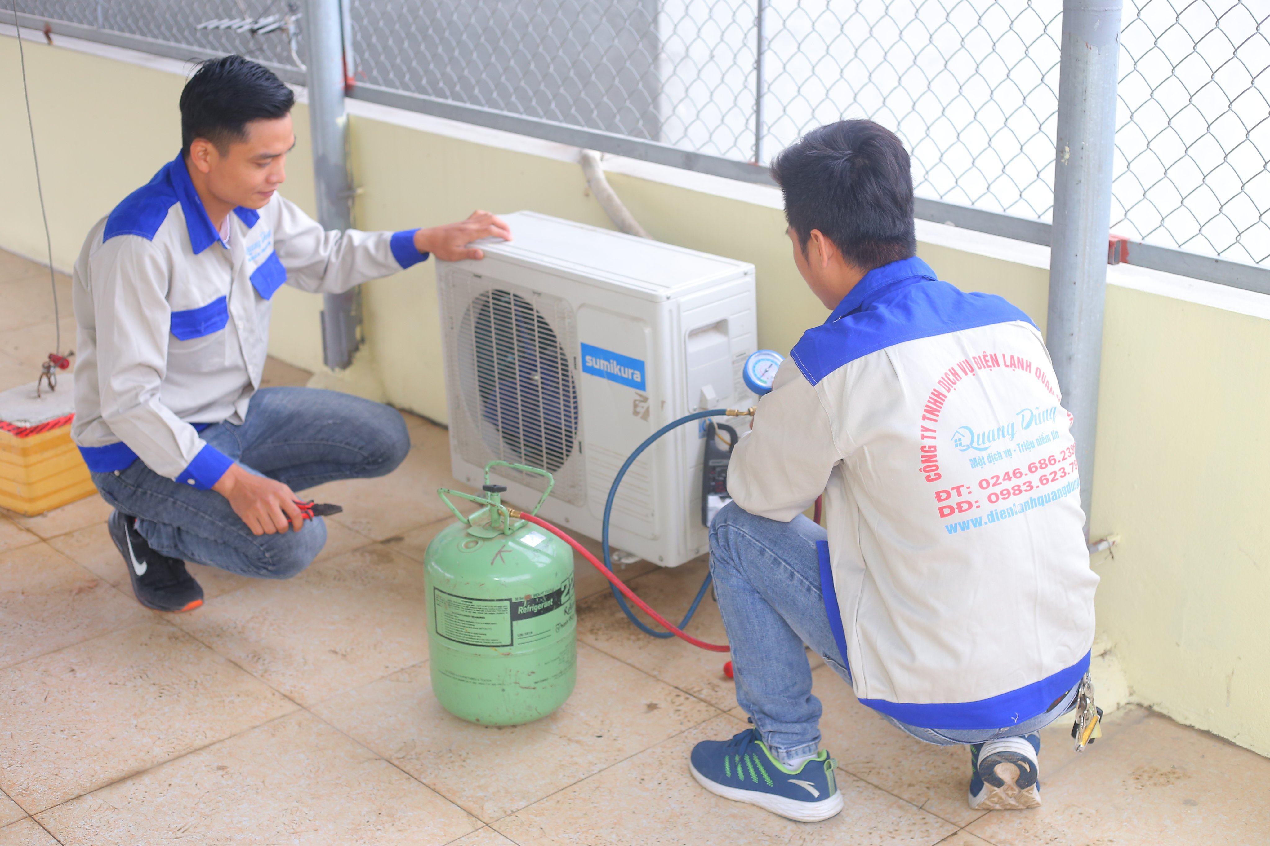 Nạp Gas Điều Hòa tại Hà Nội, Đơn Vị Cung Cấp Gas Chính Hãng 2020
