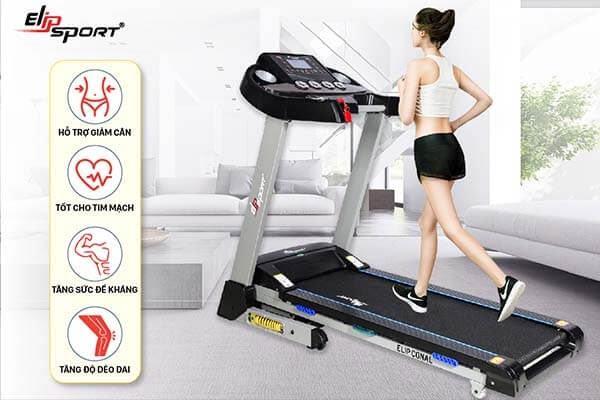 Sử dụng máy chạy bộ tại nhà đúng cách đem tới nhiều lợi ích