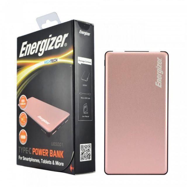 pin sac du phong energizer 5000mah mau vang hong ue5001rg 4749