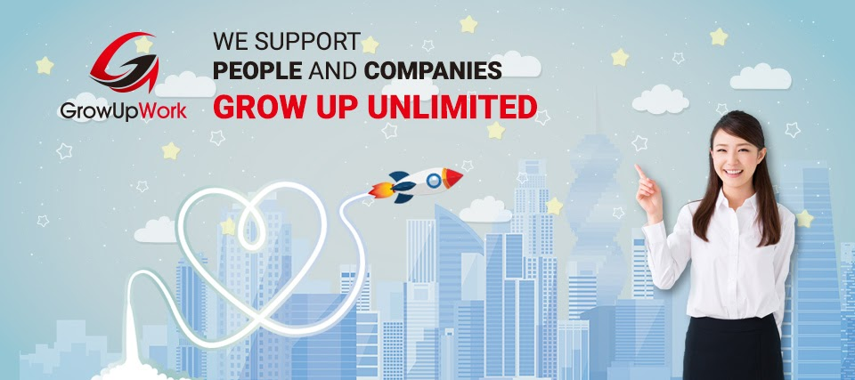 GrowUpWork - We Support People and Companies GROW UP UNLIMITED!